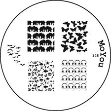 moyou stamping nail art image plate summer u0026 halloween 125