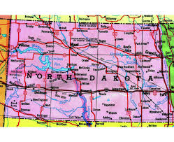 Map North Dakota Maps Of North Dakota State Collection Of Detailed Maps Of North