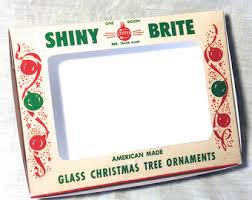 vintage shiny brite ornament box digital craft file