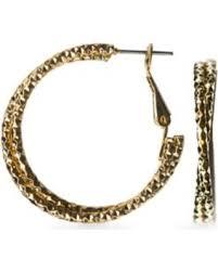sensitive skin earrings sweet deal on rogers gold gold tone sensitive skin twist hoop
