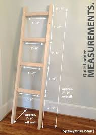 Wood Magazine Ladder Shelf Plans by Wood Magazine Quilt Rack Plans Free Wood Quilt Rack Plans Quilt