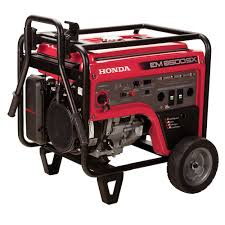 amazon com honda em6500s generator w electric start patio