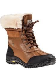ugg sale adirondack lyst ugg adirondack ii boot leather in brown