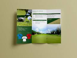 Tri Fold Program Charity Golf Trifold Program U2013 Joseph Conti