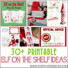 spirit of halloween coupon printable 30 printable elf on the shelf ideas over the big moon