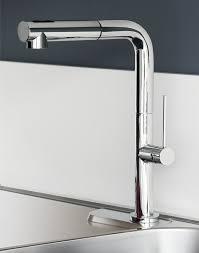 deck mount kitchen faucet maestrobath slim single handle deck mounted kitchen faucet with