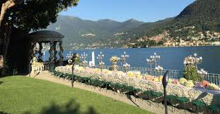 Grand Hotel On Lake Como by Wedding Reception