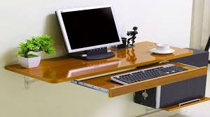 space saver computer table ideas computer desk ikea youtube