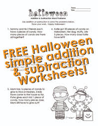 squarehead teachers simple addition and subtraction halloween