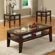 3 piece coffee table set lovely coffee and end table set acme furniture brian 3 piece coffee