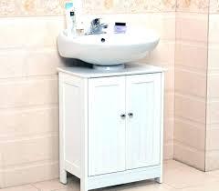 Bathroom Pedestal Sink Storage Pedestal Sink Storage Cabinet House Of Designs
