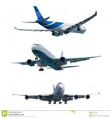 set of a jet airplanes royalty free stock photo image 22216935