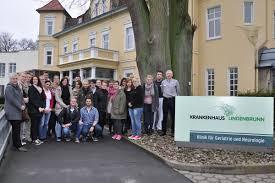 Krankenpflegerschüler Aus Bad Pyrmont Besuchen Krankenhaus Lindenbrunn