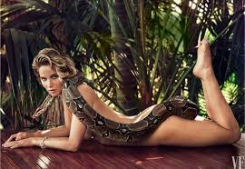 Vanity Fair Photographer You Welcome Jennifer Lawrence Poses With A Snake Brave