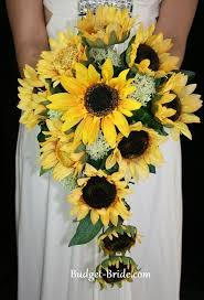 Sunflower Wedding Bouquet 44 Bästa Bilderna Om Sunflowers Themed Wedding På Pinterest