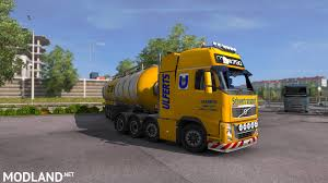 volvo xl 70 volvo fh16 8x4 mod for ets 2