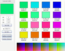 color tool create new color schemes with online tools perfect blogger