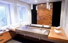 troff sinks bathroom toronto trough sinks for bathroom contemporary with concrete floor