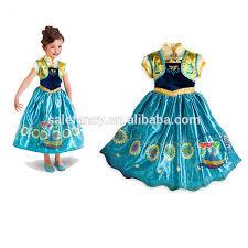 Elsa Costume Quinceanera Dresses Little Girls Frozen Princess Elsa Costume Qkc
