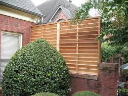 garden style tub outdoor privacy screens for louvered panels