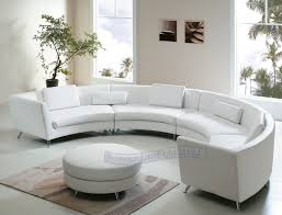 White Round Ottoman by Modern Line Furniture Commercial Furniture Custom Made