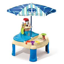 water table for 5 year old step2 high seas adventure sand toys and water table with umbrella