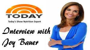 Today Show by Interview With Today Show Joy Bauer Youtube