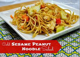 cold salads cold sesame peanut noodle salad the seasoned mom