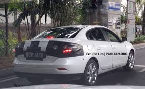 renault alliance tan renault fluence spied in malaysia launching soon