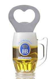 beer glass svg hb beer mug magnet with a bottle opener from hofbräu chaps
