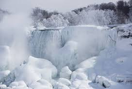 frozen niagara falls york u0027s u0027ice volcano u0027 boston