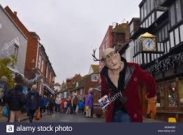 Celebration In Uk Masked Rye East Sussex Uk 10th Dec 2016 Popular