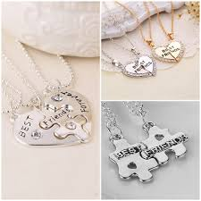 heart puzzle necklace images Teemi bff best friends forever friendship 2 in 1 necklace diamond jpg