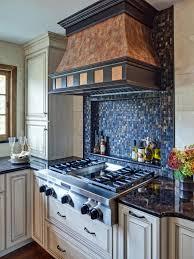 interior blue backsplash tile black and white backsplash tile