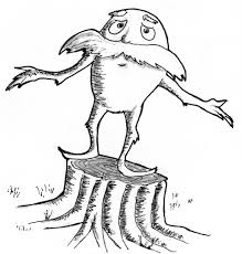 lorax coloring pages jacb me
