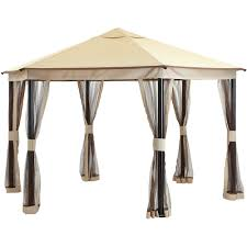 Bbq Canopy Walmart by Mainstays Hexagonal Garden House 13 U0026rsquo Walmart Com