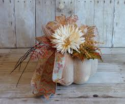pumpkin fall thanksgiving centerpiece wedding fall 2014