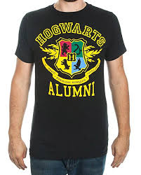 harry potter alumni shirt harry potter hogwarts alumni mens black t shirt clothing