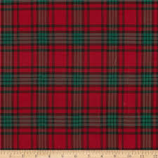 plaid christmas blitz large plaid green discount designer fabric