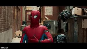 spider man homecoming trailer released daily mail