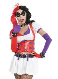 Batman Arkham Halloween Costumes Dc Comics Batman Arkham Harley Quinn Nurse Costume Topic