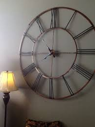appealing extra large wall clock 111 oversized wall clock hobby