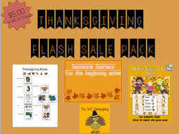 thanksgiving flash sale pack simply special ed