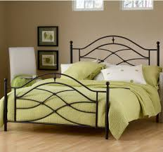 beautiful and romantic black wrought iron bed modern wall