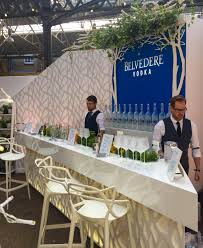 belvedere at london cocktail week true staging