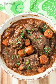 cooker pot roast with gravy chew out loud