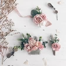 Corsage Flowers Blush Flower Wrist Corsage Blush Bridesmaids Corsage Flower