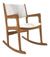 Rocking Chair Teak Wood Rocking Mint Condition Danish Benny Linden Teak Rocking Chair Restored In
