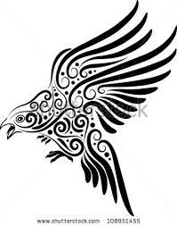 bird ornament vector 4 animal sketch stock vector 108951455