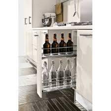 meuble bas pour cuisine rangement coulissant pour meuble bas de 150mm accessoires cuisines